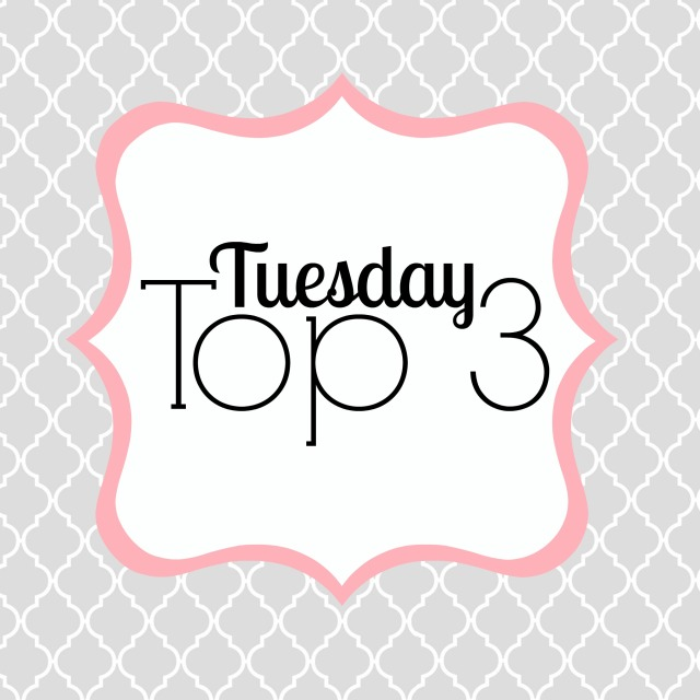 Nacogdoches photographer gray, white and salmon quatrefoil design for Tuesday Top 3 series
