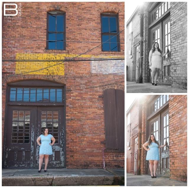 Nacogdoches photographer SFA senior portraits in downtown Nacogdoches