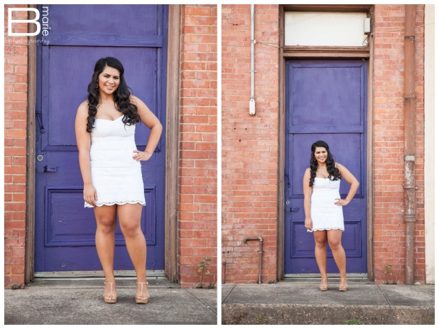 Nacogdoches photographer SFA senior portraits in downtown Nacogdoches