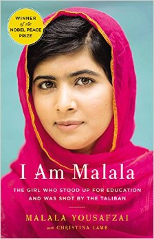 Book Cover of I Am Malala by Malala Yousafzai