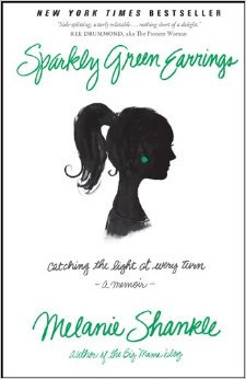 Book Cover - Sparkly Green Earrings by Melanie Shankle