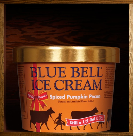 Nacogdoches photographer Tuesday Top 3 Fall favorite Blue Bell Spiced Pumpkin Pecan ice cream