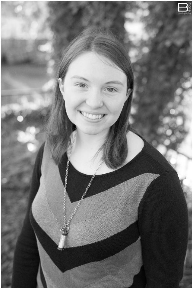 Nacogdoches photographer outdoor senior portrait of high school senior girl