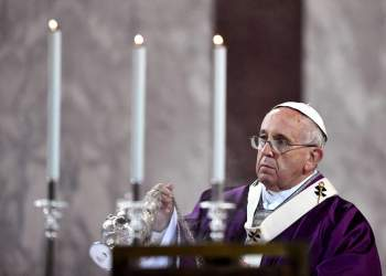 ITALY-VATICAN-POPE-MASS-ASH-WEDNESDAY