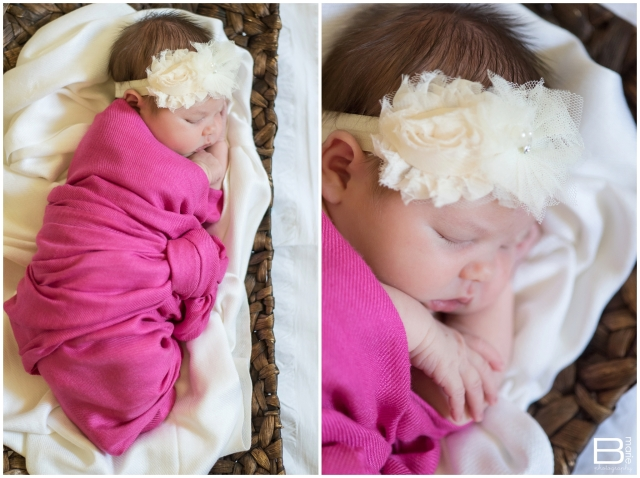 Nacogdoches photographer Houston newborn portrait session with little baby girl