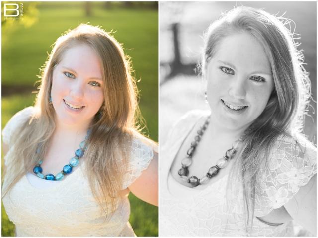 Nacogdoches photographer outdoor senior portraits on SFA campus
