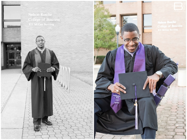 Nacogdoches photographer senior portraits of SFA grad