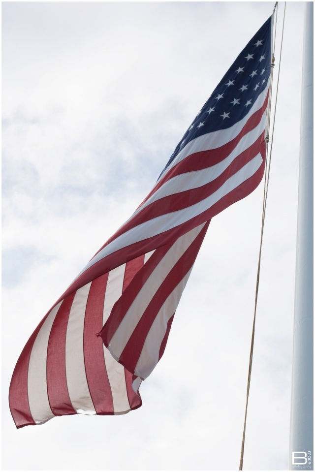 Nacogdoches photographer image of American flag