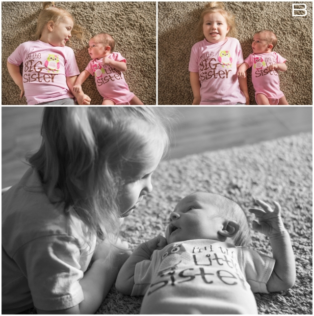 November installment of Nacogdoches photographer's monthly photo project with images of her two daughters