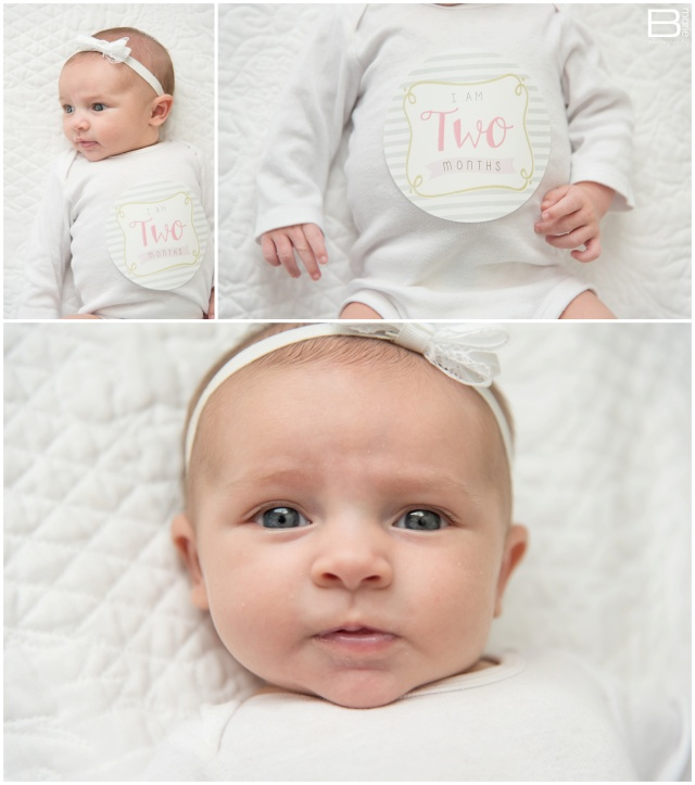 Nacogdoches photographer's images of her two month old daughter, Pumpkin