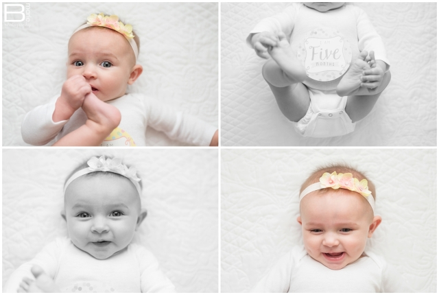 Nacogdoches photographer images of daughter, Pumpkin, at 5 months old