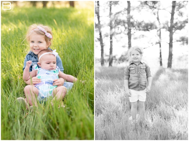 Nacogdoches photographer images of two daughters for March installment of monthly photo challenge