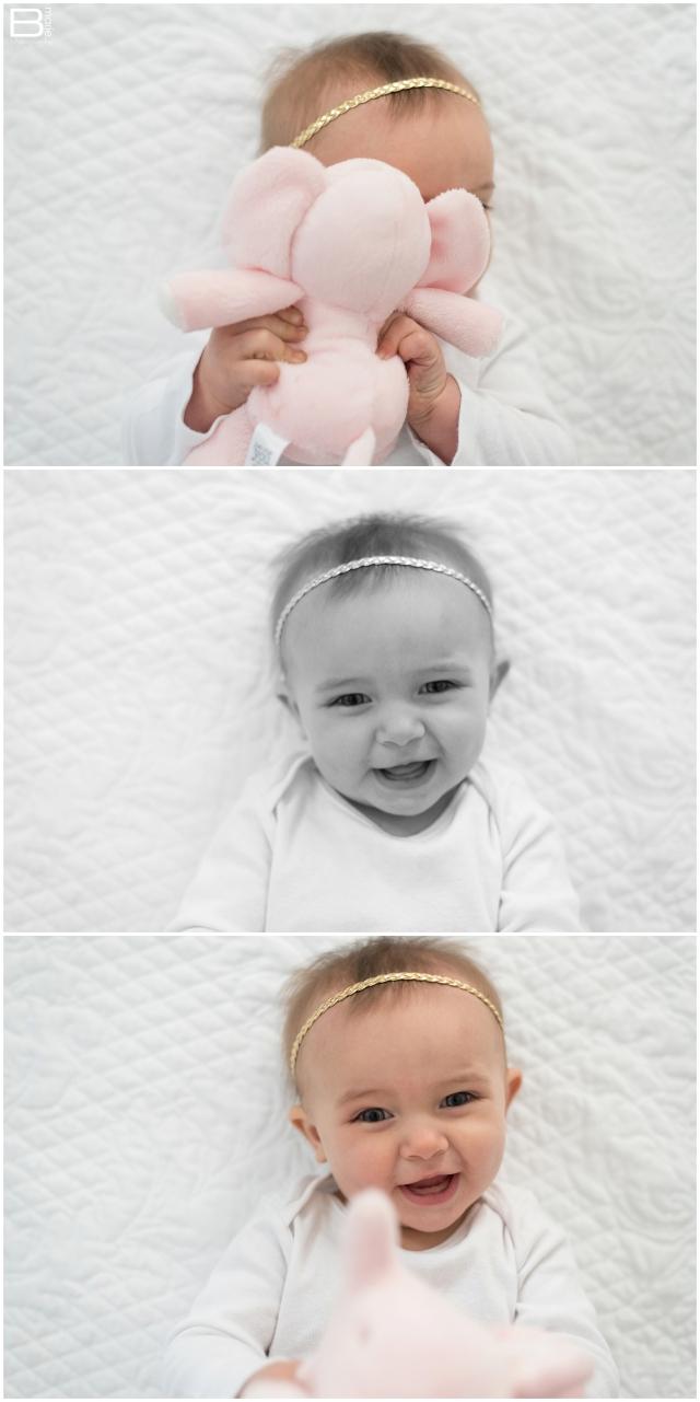 Houston photographer images of daughter Pumpkin at 8 months old for Dear Pumpkin letter