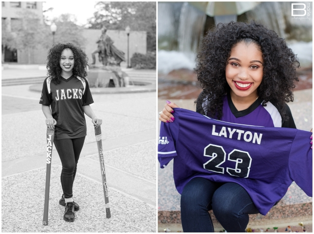 Kingwood photographer images of SFA graduating senior on SFA campus